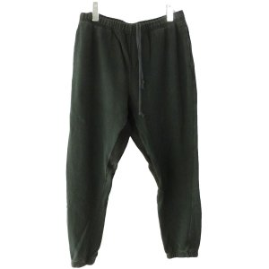 MAISON EUREKA 「SWEAT PANTS」スウェットパンツ ブラック サイズ:M (原宿店) 190715 kindal