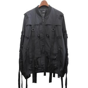 stampD 「Flex Strapped Bomber Jacket」ストラップボンバージャケット ブラック サイズ:M (渋谷店) 190818|kindal