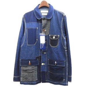 FDMTL(Fundamental Agreement LUXURY) 2019AW「PATCHWORK COVERALL RINSE」パッチワークデ|kindal