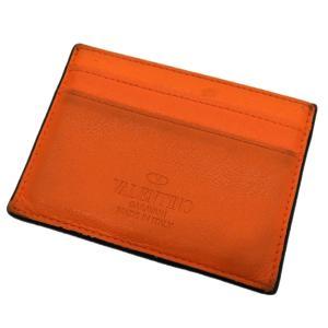 VALENTINO GARAVANI カードケース オレンジ (渋谷店) 190819|kindal