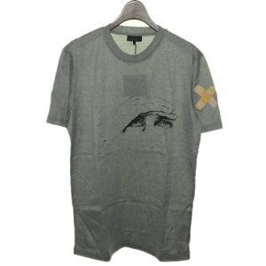LANVIN × CEDRiC RiVRAiN バンドエイドTシャツ 【色:グレー】 【サイズ:S】...