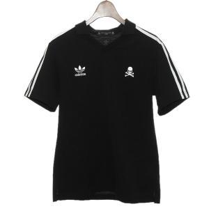 mastermind JAPAN×adidas スーパースタートラックシャツ ブラック サイズ:S (渋谷店) 190916 kindal