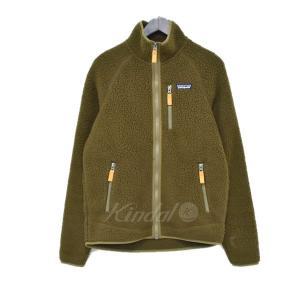 patagonia 18AW Retro Pile Jacket ジャケット カーキ サイズ:S (アメリカ村店) 190916 kindal