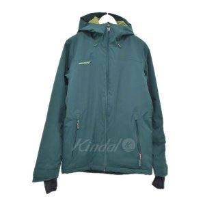 MAMMUT マウンテンパーカー Andalo HS Thermo Hooded Jacket グリーン サイズ:S (アメリカ村店) 190830|kindal