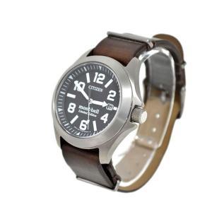 CITIZEN × mont bell PROMASTER プロマスター 腕時計 シルバー×ブラウン (アメリカ村店) 190819|kindal