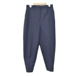 JIL SANDER バック裾ジップテーパードパンツ ネイビー サイズ:32 (アメリカ村店) 190821|kindal