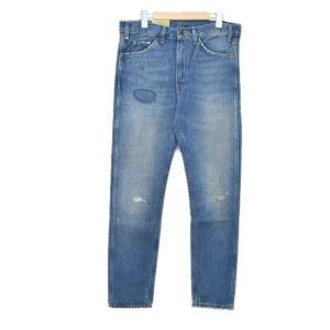 【10月14日値下】LEVIS VINTAGE CLOTHING 加工デニムパンツ 606 3060...