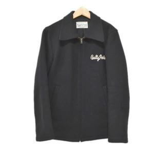 WACKO MARIA メルトンジップアップジャケット ブラック サイズ:S (アメリカ村店) 191023|kindal