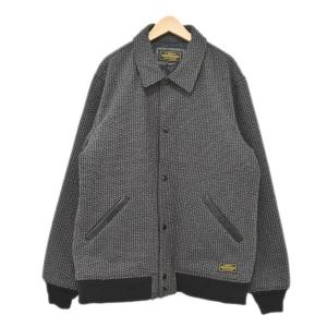 NEIGHBOR HOOD 17AW VARSITY CWJKT バーシティジャケット ブラウン・ブラック サイズ:XL (四ツ橋店) 191023|kindal