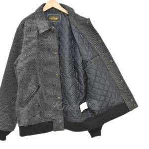 NEIGHBOR HOOD 17AW VARSITY CWJKT バーシティジャケット ブラウン・ブラック サイズ:XL (四ツ橋店) 191023|kindal|03