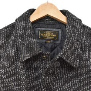 NEIGHBOR HOOD 17AW VARSITY CWJKT バーシティジャケット ブラウン・ブラック サイズ:XL (四ツ橋店) 191023|kindal|04