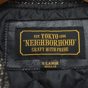 NEIGHBOR HOOD 17AW VARSITY CWJKT バーシティジャケット ブラウン・ブラック サイズ:XL (四ツ橋店) 191023|kindal|05