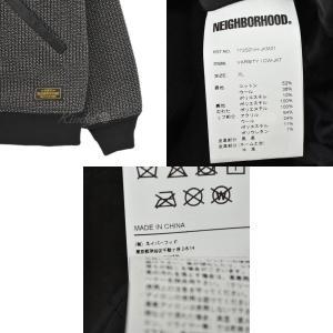 NEIGHBOR HOOD 17AW VARSITY CWJKT バーシティジャケット ブラウン・ブラック サイズ:XL (四ツ橋店) 191023|kindal|06