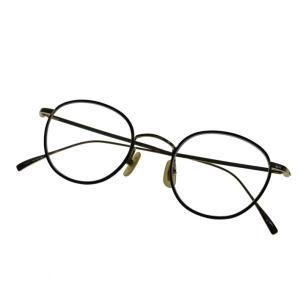 金子眼鏡 ボストンメガネ ブラック×ゴールド (堀江店) 191112|kindal
