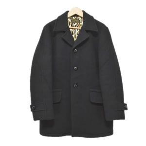 WACKO MARIA 14AW GANG COAT ギャングコート チェスターコート ブラック サイズ:M (アメリカ村店) 191023|kindal