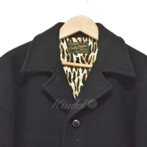 WACKO MARIA 14AW GANG COAT ギャングコート チェスターコート ブラック サイズ:M (アメリカ村店) 191023 kindal 04