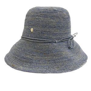 HELEN KAMINSKI ラフィアハット ブルー (茶屋町店) 190723|kindal