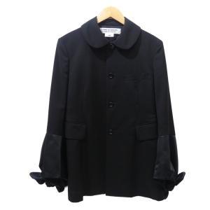 COMME des GARCONS COMME des GARCONS 2018SS RA-J011 袖ボリューム4Bジャケット ブラック サイズ:S|kindal