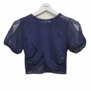 UN3D メッシュTシャツ ネイビー サイズ:FREE (茶屋町店) 200617