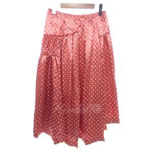 【SALE】 【20%OFF】 COMME des GARCONS ドット柄ロング丈スカート サイズ:M (京都店)|kindal