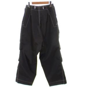 TUKI Military Baggs パンツ ブラック サイズ:0 (京都店) 190615|kindal