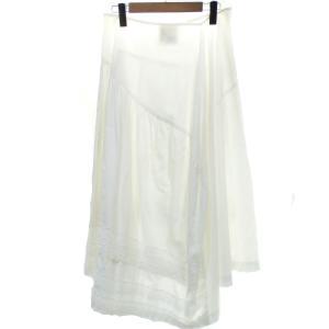 COMME des GARCONS レースデザイン スカート ホワイト (京都店) 190719|kindal