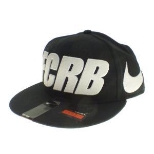 F.C.R.B. 【2015A/W】BIG SWOOSH LOGO CAP ブラック (京都店) 191011|kindal
