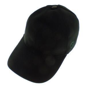GUCCI ワンポイントロゴ キャップ ブラック サイズ:XL/60 (京都店) 191019|kindal