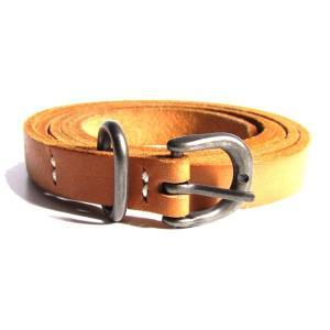 【SALE】 Hender Scheme Tail Belt レザーベルト  (元町店)