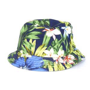 GITMAN BROS VINTAGE 花柄バケットハット ネイビー×マルチカラー サイズ:S (三宮店) 190820|kindal