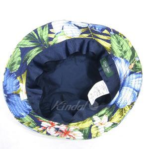 GITMAN BROS VINTAGE 花柄バケットハット ネイビー×マルチカラー サイズ:S (三宮店) 190820|kindal|03