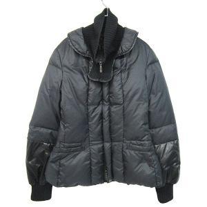 Y's×MONCLER 2005AW 袖切替ダウンジャケット ブラック サイズ:2 (元町店) 190818|kindal