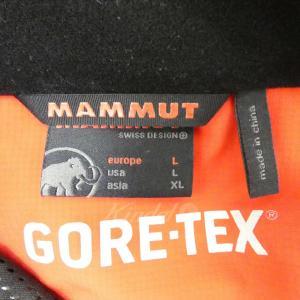 MAMMUT ICE FIELD JACKET GORE-TEX マウンテンパーカー レッド サイズ:XL (堅田店) 190812|kindal|04