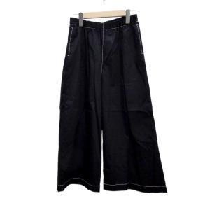 tricot COMME des GARCONS イージーワイドパンツ 2019S/S ブラック (堅田店) 190803|kindal
