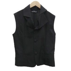 tricot COMME des GARCONS デザインベスト ブラック サイズ:不明 (堅田店) 190907 kindal