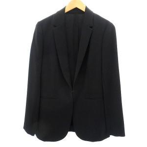 UNITED ARROWS ダブルクロステーラードジャケット ブラック サイズ:40 (明石店) 190817|kindal