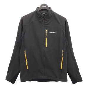 mont bell 【1106499】サイクライムジャケット 裏フリースジップジャケット ブラック ...