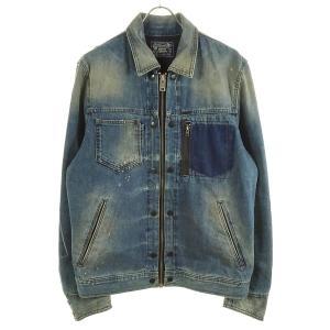 DIESEL USED加工デニムジャケット ブルー サイズ:L (和歌山店) 190718|kindal