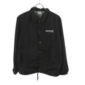 Reebok コーチジャケット 16AW ブラック サイズ:S (和歌山店) 190820|kindal