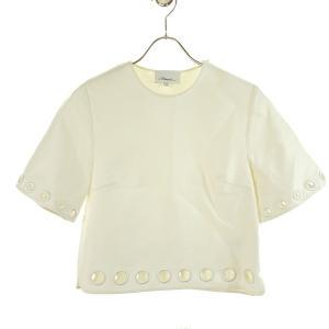3.1 phillip lim 半袖カットソー ホワイト サイズ:0 (和歌山店) 190914 kindal