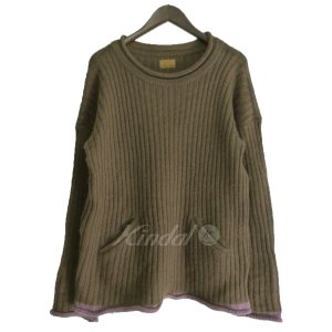 【SALE】 BROWN by 2-tacs ポケット付クル...