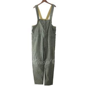 Engineered Garments 「Waders-Heavy Brushed HB」ヘリンボーンオーバーオール グレー サイズ:M (原宿店) kindal