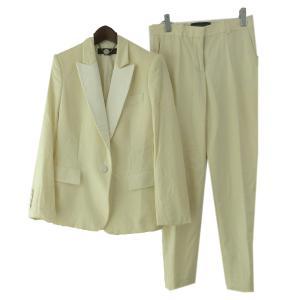 STELLA McCARTNEY ピークドラペル2Bセットアップスーツ ホワイト サイズ:38/38 (原宿店) 190628 kindal