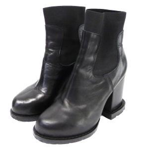 sacai サイドゴアブーツ ブラック サイズ:23.5cm (原宿店) 190718|kindal