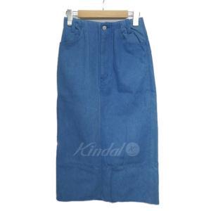 【6月20日値下】DRESSTERIOR FAISA デニムスカート インディゴ サイズ:36 (栄店)|kindal