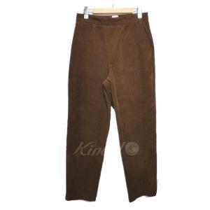 6(ROKU) BEAUTY&YOUTH UNITED ARROWS 「CORDUROY PANTS」コーデュロイパンツ ブラウン サイズ:38 (栄|kindal