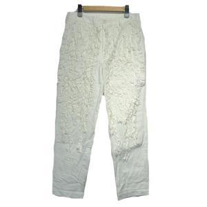 【SALE】 【20%OFF】 COMME des GARCONS CO 2013SS フリル装飾テーパードパンツ サイズ:S (栄店)|kindal