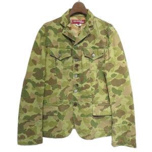 JUNYA WATANABE COMME des GARCONS MAN × Levis カモフラデニムジャケット グリーン サイズ:SS (栄店)|kindal