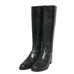 UNITED ARROWS バックジップロングブーツ ブラック サイズ:37 1/2 (栄店) 190917|kindal