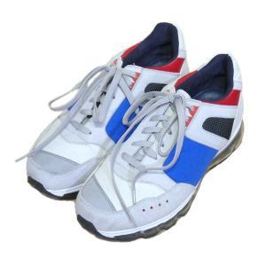 Tomo&Co 「french trainer」フレンチトレーナー スニーカー グレー サイズ:27...